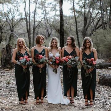 Shona Joy Luxe Cocktail Frill Dress  Emerald Bridesmaids Dresses