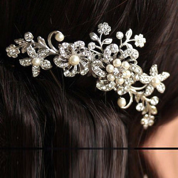 Bridal Headpiece Comb