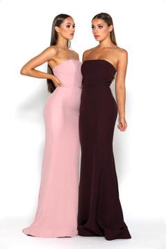 Lilo Gown Plum by Portia & Scarlett