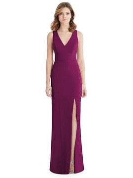After Six Bridesmaid Dress 1513 in Merlot