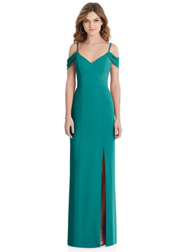 After Six Bridesmaid Dress 1517 in Jade