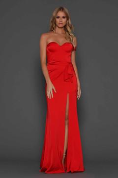 Maise Red Dress Elle Zeitoune