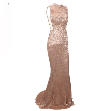 Sequin Cut Out Formal Dress Je T'aime Lilly Luxe the Label