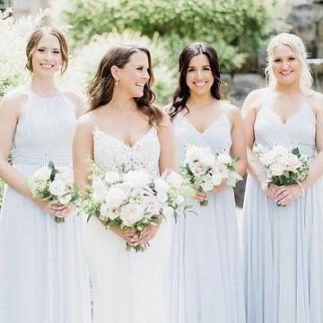 Dessy Bridesmaid Dress 3021 & 2969