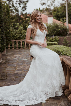 Dawn Wedding Gown by Calla Blanche