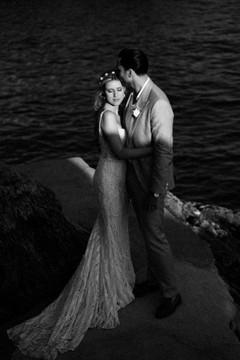 Real Bride in Kayla LA18235 by Calla Blanche
