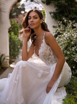 Ariel H1394 by Moonlight Bridal
