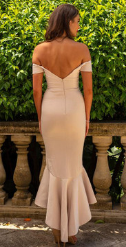 Nicola Dress By Miss Holly Nude