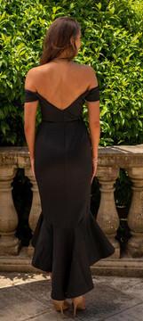 Nicola Dress By Miss Holly Black