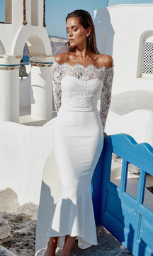 Diana Dress White By Miss Holly