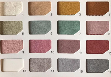 colro swatches