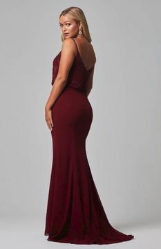 Valencia Dress Wine by Tania Olsen Designs