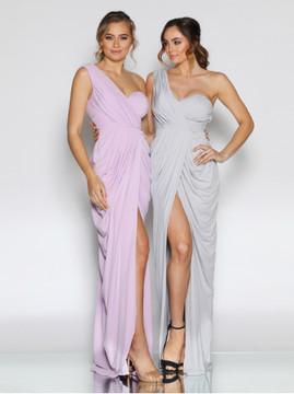 Christina Dress By Les Demoiselle LD1080 Bridesmaids Dresses One Shoulder