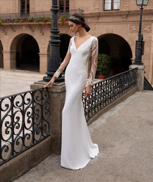 Nysa Wedding Gown By Pronovias Barcelona
