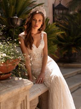 Zara H1423 by Moonlight Bridal