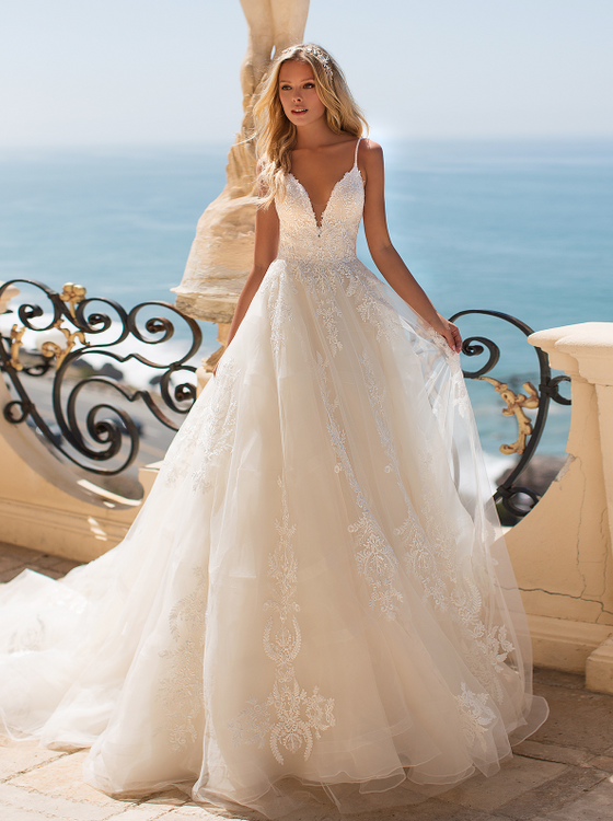 June H1372 by Moonlight Bridal