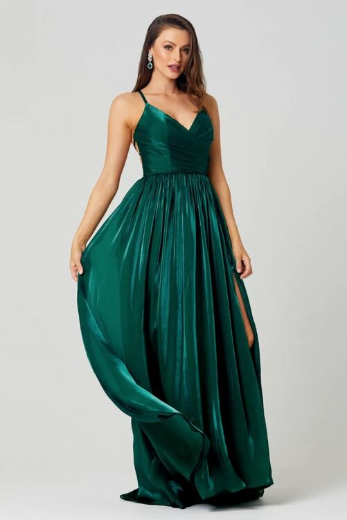 Lee Satin Formal Dress by Tania Olsen
