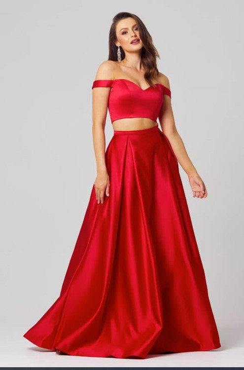 Holly A-Line Two Pieces Evening Dress by Tania Olsen Designs