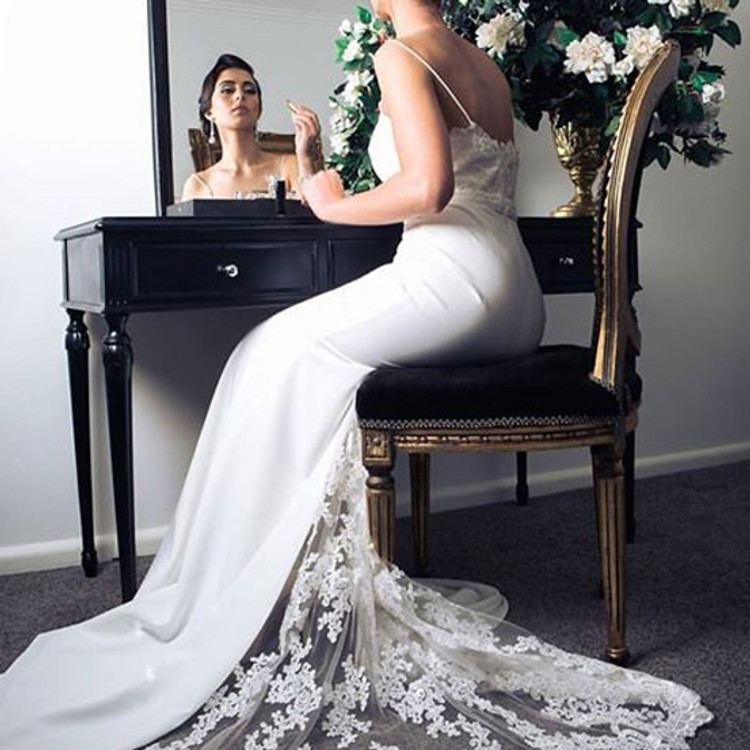 Dior Dress by Jadore J8034 in Ivory size 10 ( store sample)