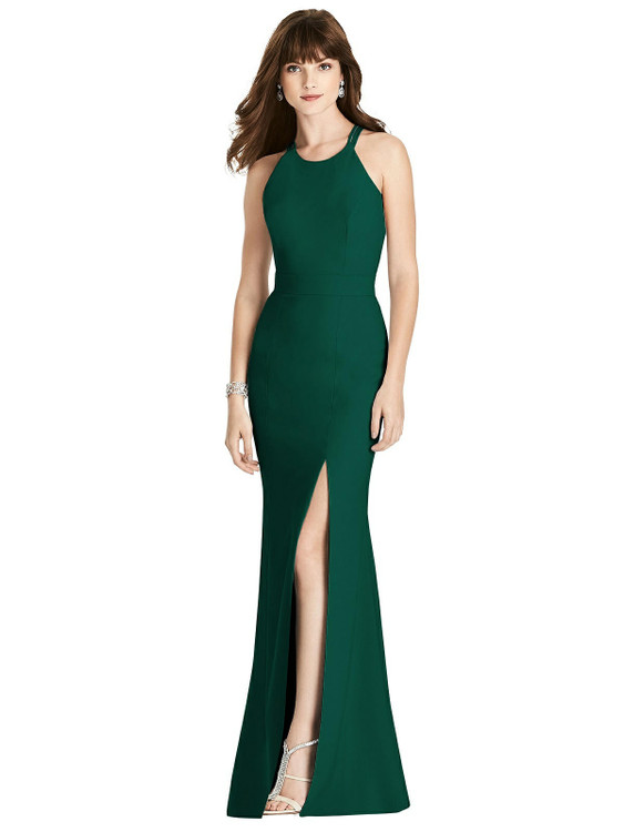Criss Cross Open-Back Trumpet Gown by After Six 6776 in 33 colors