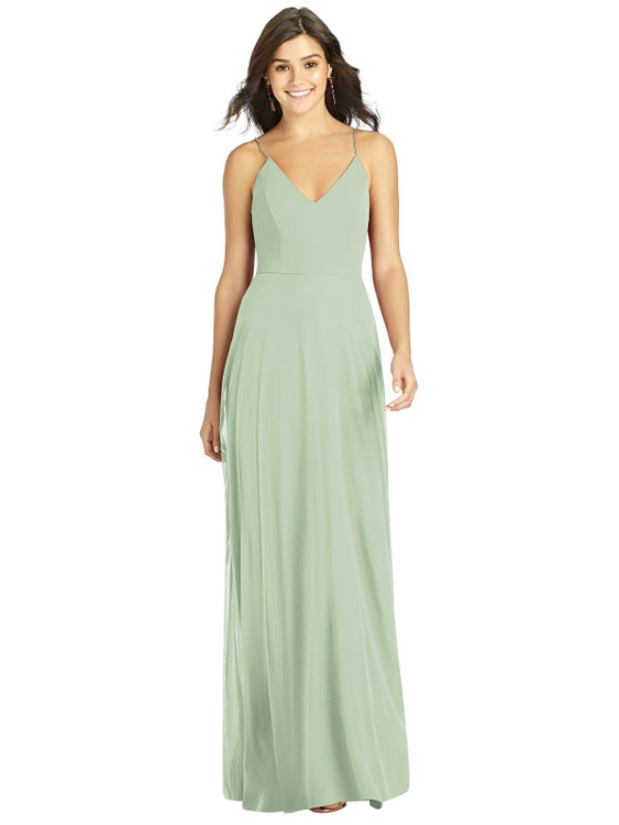 Criss Cross Back A-Line Maxi Dress by Thread Bridesmaid Style TH007 in 61 colors