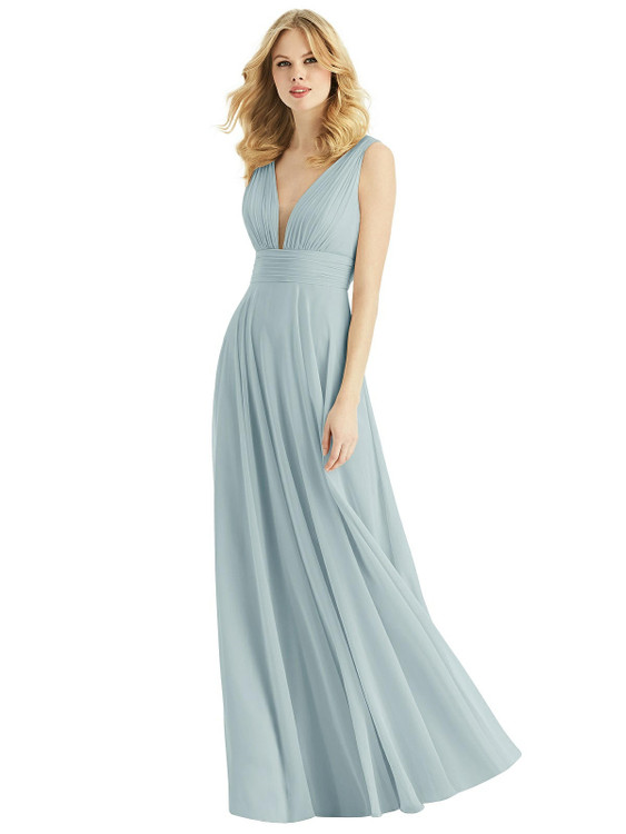Bella Bridesmaids Dress BB109 in 64 colors in morning sky