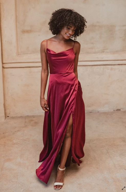 Denver TO877 Bridesmaids Dress by Tania Olsen in Wine
