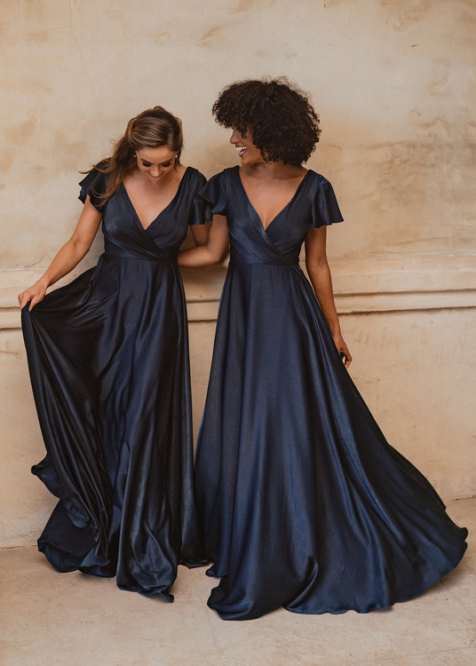 Auckland TO872 Bridesmaids Dress by Tania Olsen in Navy