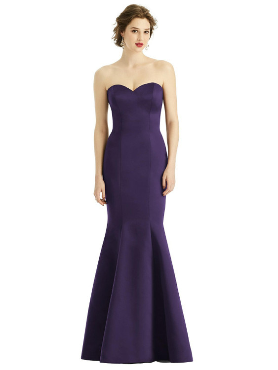 Sweetheart Strapless Satin Mermaid Dress by  After Six 1532 available in 74 colors shown in Concord