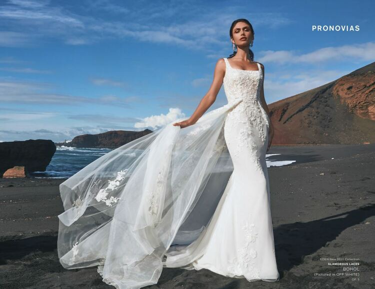 Bohol Wedding Gown by Pronovias Barcelona Bridal