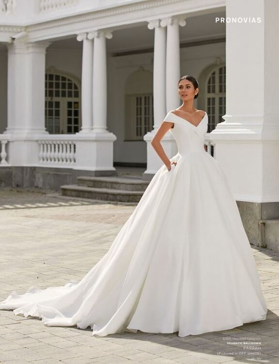 Farrah Wedding Gown by Pronovias Barcelona Bridal
