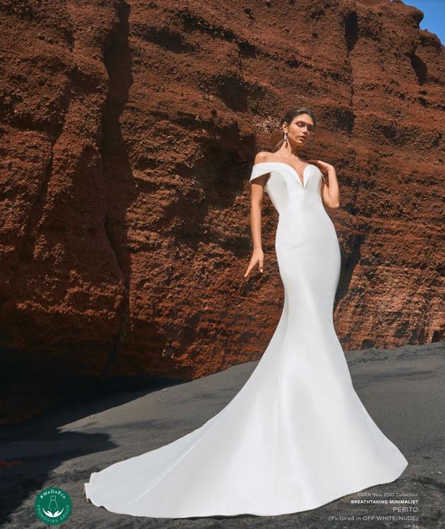 Perito Wedding Gown by Pronovias Barcelona Bridal