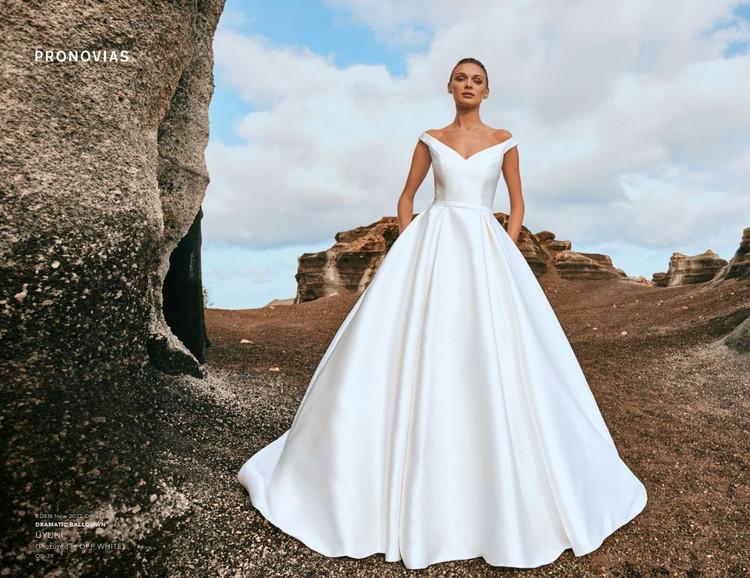 Uyuni Wedding Gown by Pronovias Barcelona Bridal