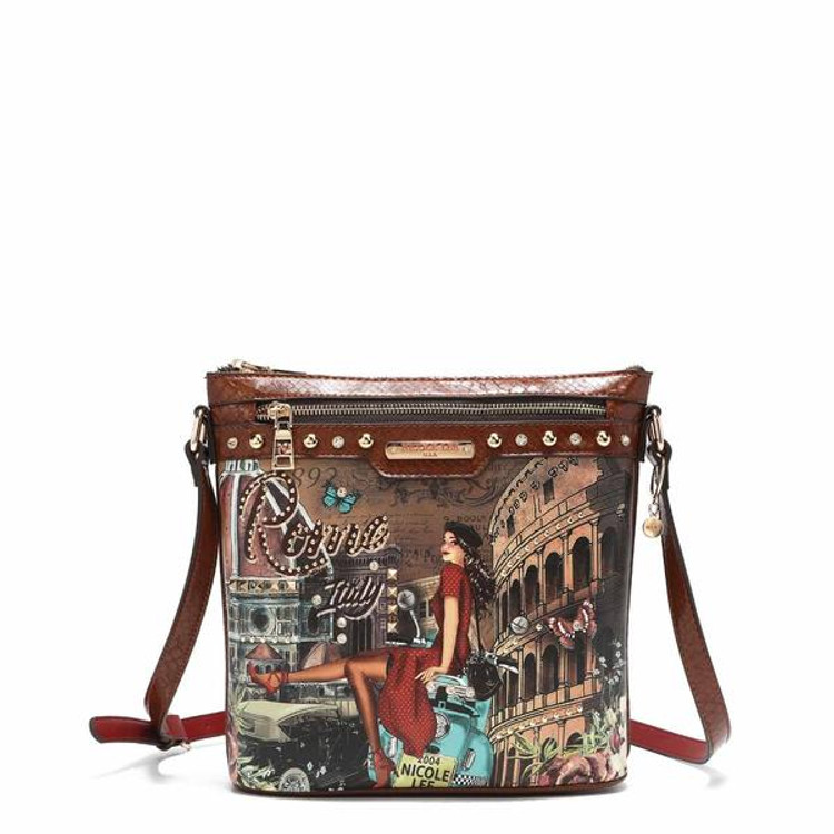 Nicole Lee MEMORY OF ROME CROSSBODY by Ameise