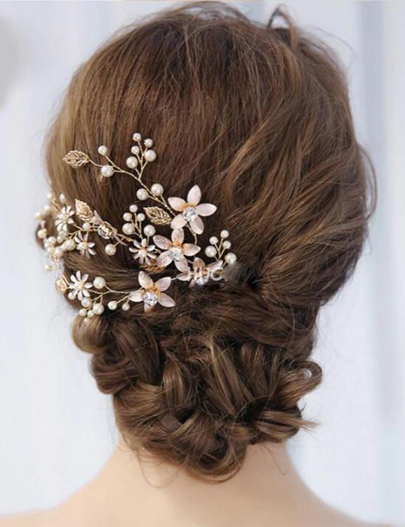 Flower Halo Wedding Hair Accessories (MITIARA12)