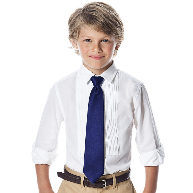 "Boy's 50"" Duchess Satin Neck Tie"