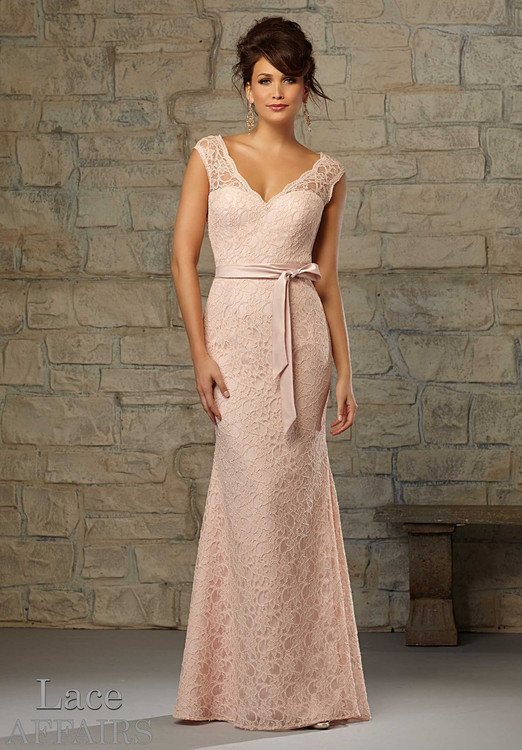 Mori Lee Lace Affairs Bridesmaids 724