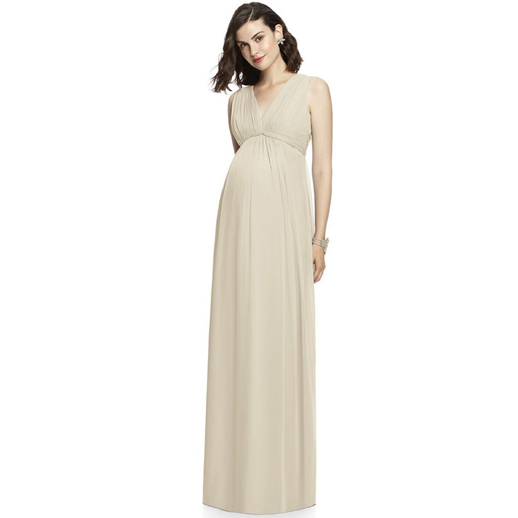 After Six Dress M429 in oyster in au 14 (us 12) (1only)