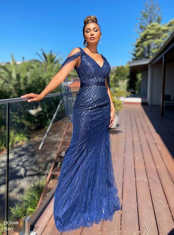 Everette Sequin Dress JX5048 by Jadore
