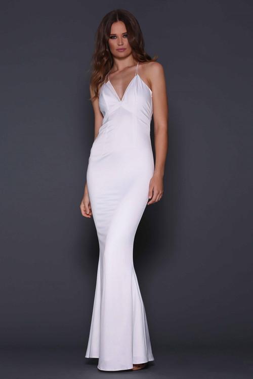 Raphael Dress By Elle Zeitoune White