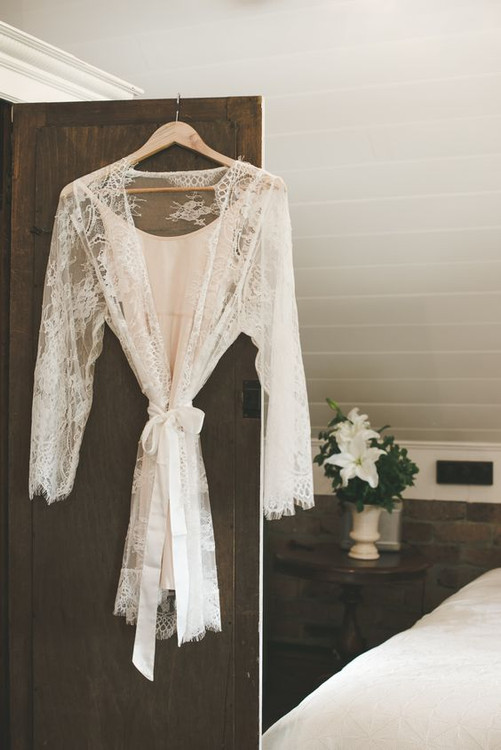 Bridal Full Lace Robe