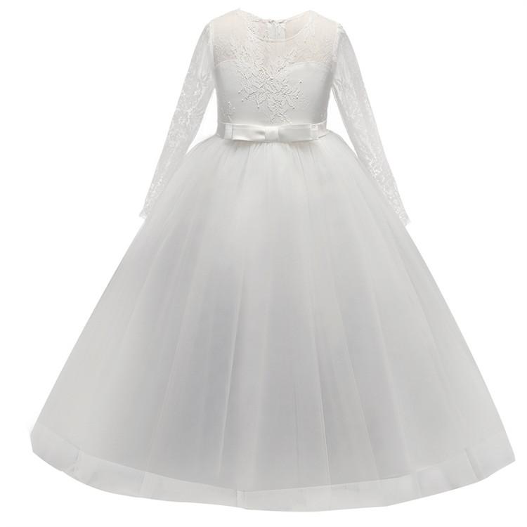 Presley Flower Girl Dress Long Sleeve size 5-14