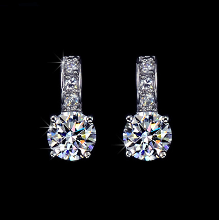 Small stud Cubic Zirconia earrings
