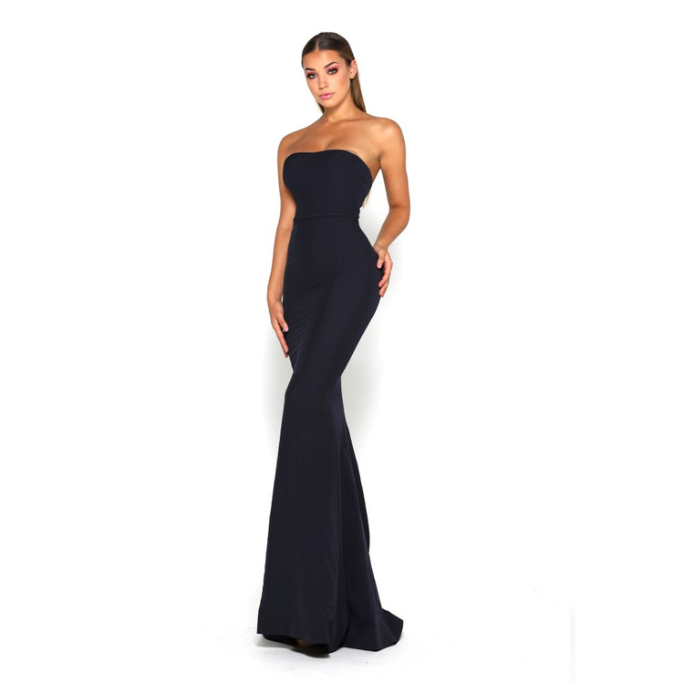 Lilo Gown Black by Portia & Scarlett