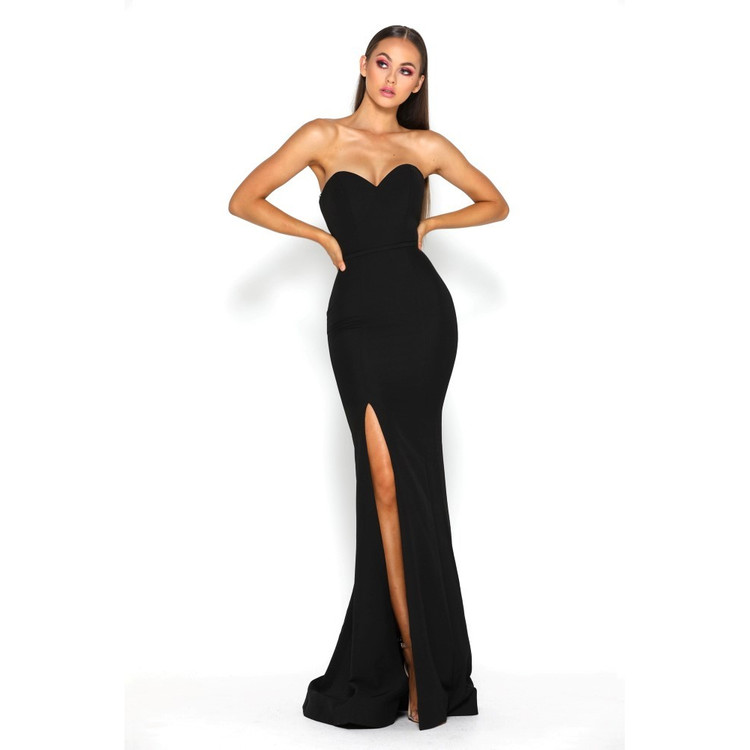Araya Dress Black by Portia & Scarlett