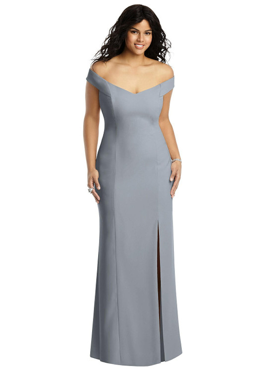 Dessy Dress 3012- platinum