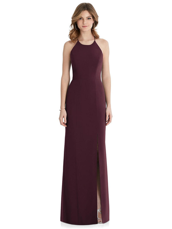 After Six Bridesmaid Dress 1512 in Bordeaux