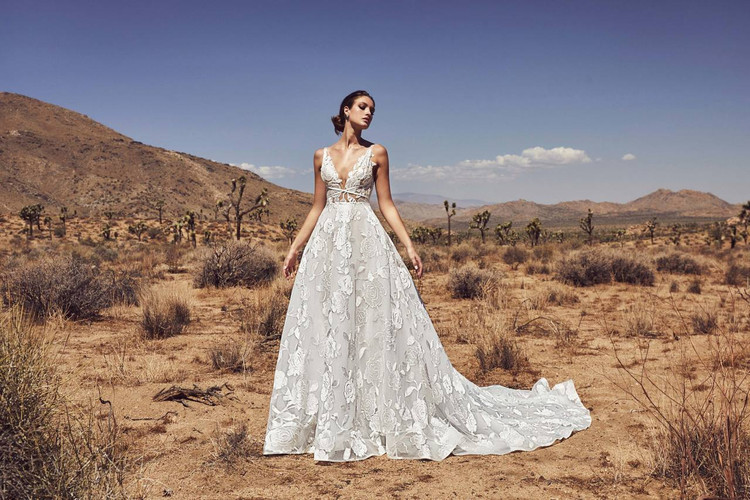 Luna Wedding Gown by Calla Blanche
