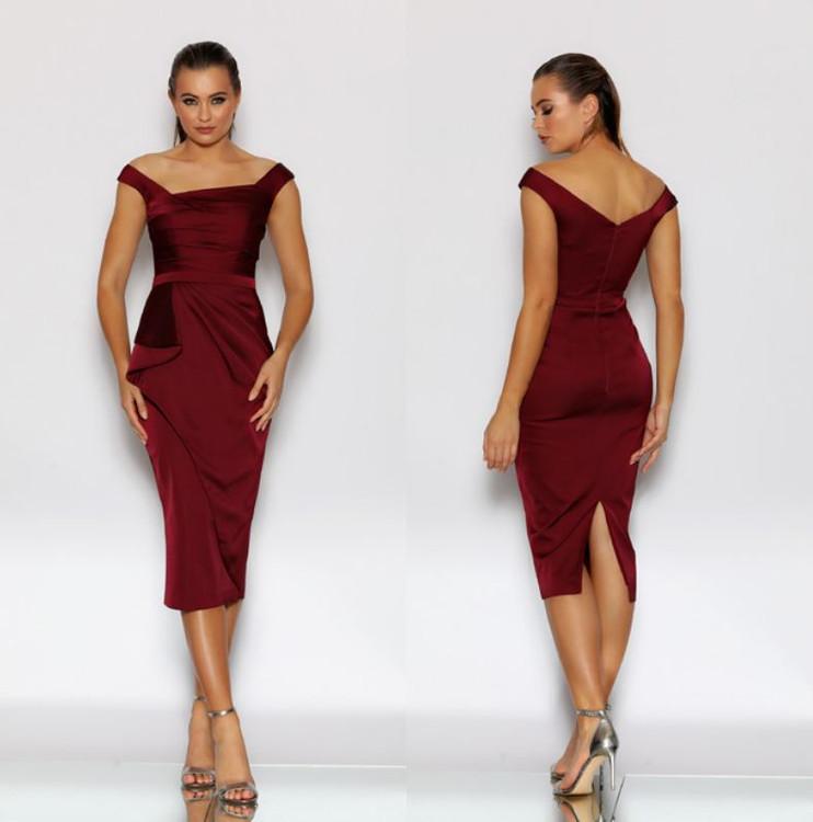 Jadore Cocktail Dress JX2092 size 6 Berry