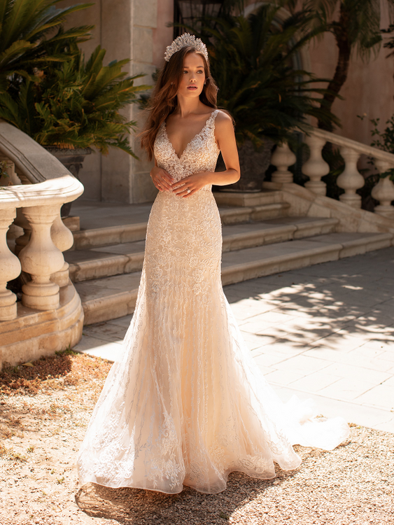 Zara H1423 by Moonlight Bridal